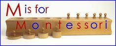 Montessori materials and supplies