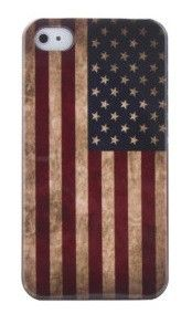 Coconut Vintage iPhone 5 Case USA Stars and Stripes Flagge