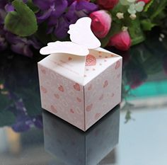 KAMAY'S® Wings Wedding Party Favour Candy Boxes Gift Boxes 50PCS (Pink) KAMAY'S http://www.amazon.co.uk/dp/B00LITETFO/ref=cm_sw_r_pi_dp_qj25ub1NMM3GD