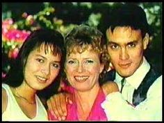 Shannon, Linda and Brandon Lee.  Bruce Lee's family