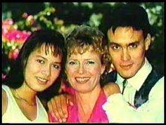 Shannon, Linda and Brandon Lee.  Bruce Lee's family