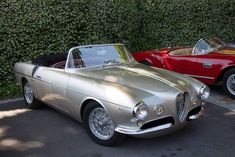 1954 Alfa Romeo 1900 C SS Cabriolet Ghia. Compare this with what American car companies were making in 1954.  Ha!