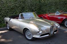 1954 Alfa Romeo 1900 C SS Cabriolet Ghia Aigle #alfa #alfaromeo #italiancars @automobiliahq