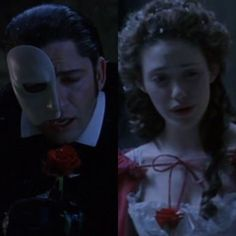 """The Phantom of the Opera: The Phantom and Christine"" by @savannahileese"