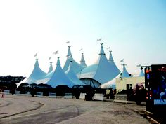 Award of Excellence for tent manufacturing: Cavalia V.I.P. Tent