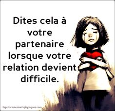 relation devient difficile - Lo Que Necesita Saber Sobre La Salud Love One Another Quotes, Online Magazine, Feeling Insecure, Thing 1, Positive Attitude, Adolescence, Told You So, Inspirational Quotes, Messages