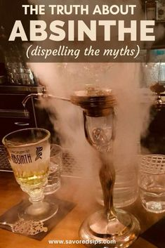 Learn the truth about Absinthe and dispell the myths that have haunted this liquor for almost 100 years