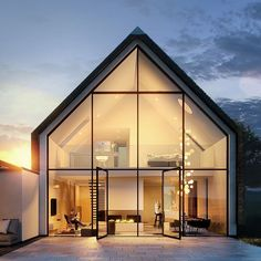 Top 13 Modern House Designs Ever Built! - futurian- Top 13 Modern House Designs Ever Built! – futurian Phenomenal Top 13 Modern House Designs Ever Built! House Architecture Styles, Architecture Design, Computer Architecture, Fashion Architecture, Landscape Architecture, Exterior Tradicional, 3d Architectural Visualization, 3d Visualization, Dome House