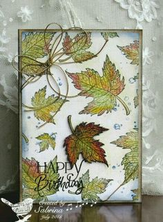 Picture of a beautiful card