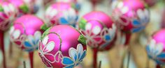 Poland has for years been world's potentate in the field of bauble production. Hand-made baubles are little masterpieces.