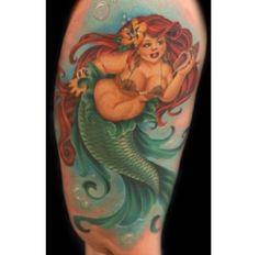 Fat mermaid