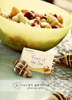 fruit of the sea (party food)
