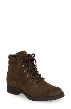 Free shipping and returns on Steve Madden 'Gantra' Bootie (Women) at Nordstrom.com. Designed with D-ring eyelets, a padded collar and a low stacked heel, this suede hiking boot adds rugged attitude to your '90s revival looks.