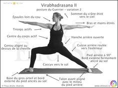 Virabhadrasana II - ÊTRE SOI, le blog du développement personnel
