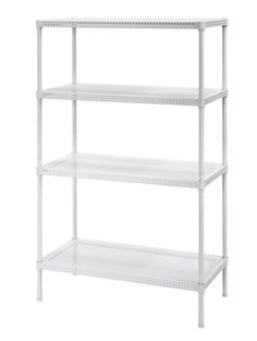 Salsbury Industries Stationary Wire Shelving Unit 36Inch Wide by ...