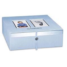 "Baby Imprints Keepsake Box - Blue - Babies R Us - Babies ""R"" Us"