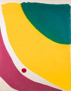 sisifo:zeroing:antonioladrillo: Jules Olitski,The Abbas Palace. Acrylic on canvas, 99 x 80 in. (251.5 x 203.2cm.)(via mrkiki)