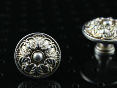 Cabinet Knobs Dresser Knob Drawer Knobs Pulls Handles Kitchen Cupboard Knobs Pull Handle Furniture Decorative Knobs Hardware Antique Silver on Etsy, $3.50