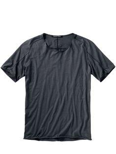 5bb63924f62ef Designer-Shirt Fa35zel in Farbe Grau Regular Fit jetzt online kaufen   Mey    Edlich