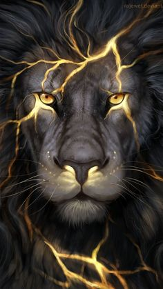 Lion Gold Poster, Banner or Canvas for sale.This Lion poster is printed on premium stock poster and is shipped to your door within days.The banners come with tw Fantasy Creatures, Mythical Creatures, Lion Pictures, Lion Of Judah, Lion Art, 5d Diamond Painting, Lion Tattoo, Tattoo Cat, Tattoo Animal