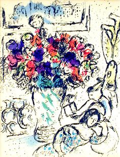 Marc Chagall: The Beauty of Flowers