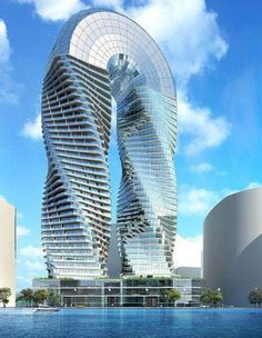 DNA Towers Project, Abu Dhabi