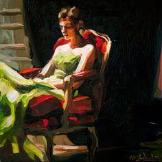 painting by Edward B. Gordon