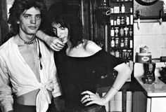 Patti Smith with Robert Mapplethorpe