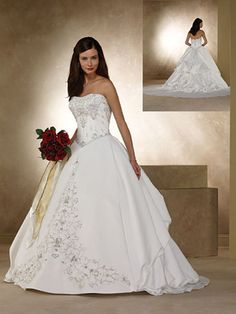 Satin tulle, Tulle wedding dresses and Tulle wedding on Pinterest