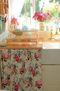 curtain to cover washing machine, dishwasher, random gaps, whatever