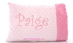 @D'anna Knight Personalized Toddler Pillow Case and Pillow  by littlebnursery, $25.00