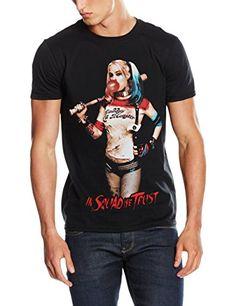 Cid Suicide Squad – Hq Squad – T-Shirt – Homme: Lavage en machine, 30° max. Produit sous licence CID Vêtement geek L'article Cid Suicide…