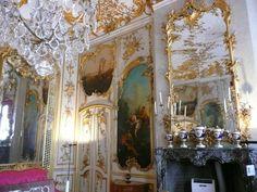 Prunksaal von Schloss Sanssouci in Potsdam - aufgenommen und gepinnt vom Immobilien Büro in Hannover Makler arthax-immobilien.de