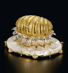 PATEK PHILIPPE 'PEARL FROM THE GOLDEN OYSTER CLOCK'