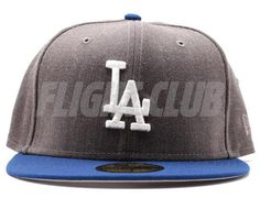 Graphite Royal LA Dodgers 59Fifty Fitted Cap by NEW ERA x MLB