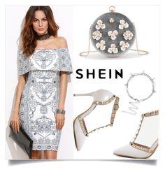 """Shein 1/III"" by mirelaaljic ❤ liked on Polyvore"