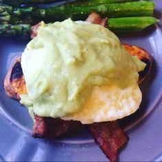 Sweet Potato Eggs Benedict