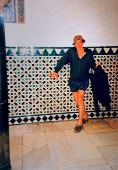 A rare shot of Rudolf Nureyev inside his tile lined Li Galli villa. Rudolf Nurejew, Old Friendships, Nostalgia, Margot Fonteyn, Ballet School, Nureyev, Best Documentaries, Russian Ballet, Ballet Beautiful