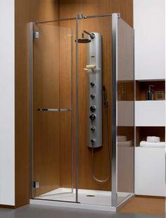 Carena KDJ Radaway kabina prysznicowa 90x90x195 chrom szkło przejrzyste lewa - 34402-01-01NL http://www.hansloren.pl/Kabiny-RADAWAY/245