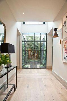 modern hallway Home Design, Home Interior Design, Interior Architecture, Landscape Architecture, House Landscape, Landscape Design, Design Ideas, Floor Design, Architecture Courtyard
