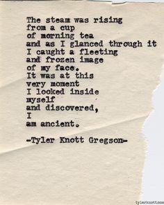Typewriter Series #542by Tyler Knott Gregson