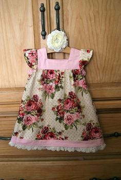dress for little girl this dress is so very sweet. It would be paired perfectly with a LuChic Accessory hair flower