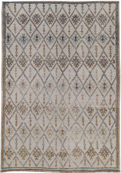 A Vintage Moroccan Rug, No. 8760