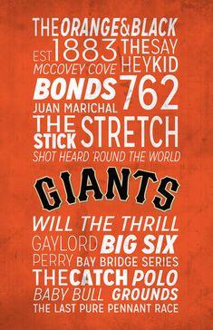 San Francisco Giants Poster!
