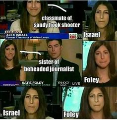 Crisis actors. False flags.  The media is DISGUSTINGLY DISHONEST, and ask yourself what the fuck are the motives of this