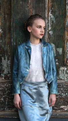 The Small Gatsby - Bertie Jacket, Sterre Blouse + Esmee Skirt, SS16 Seerand Collection, Vienna.