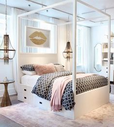 Teen Girl Bedrooms - An exciting to breath taking pool of teen room decor ideas and examples. For added enjoyable teenage girl room styling info why not jump to the link to read the pin tip 6071508823 immediately. Room Decor For Teen Girls, Teen Girl Rooms, Teenage Girl Bedrooms, Bedrooms For Teenagers, Teen Girl Bathrooms, Cute Bedroom Ideas For Teens, Dream Teen Bedrooms, Cool Teen Rooms, Teenage Girl Bedroom Designs