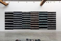 Sean Scully, Horizontal Soul, 2014, oil on aluminium