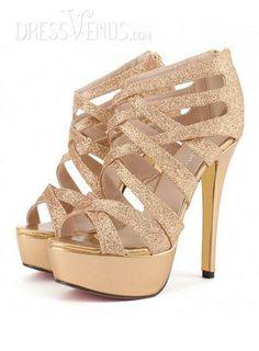 2014 Paris Fashion Week Summer Hottest Ultra-high Roman Sandals #Fashion #Sandals #Dressvenus