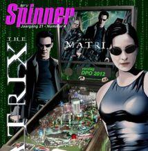 Spinner magazine, cover december 2012